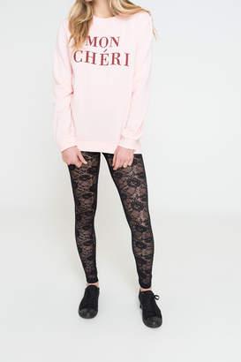 Ardene Sheer Lace Leggings
