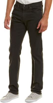 J Brand Kane Greyserite Linen-Blend Straight Leg