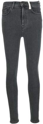Current/Elliott high waist skinny jeans