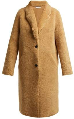 Inès & Marèchal Dada Shearling Coat - Womens - Tan