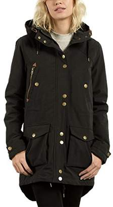 Volcom Junior's Womens' Walk on by Sherpa Lined Parka Jacket