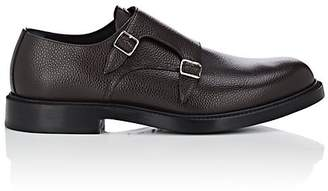 Calvin Klein Men's Leather Double-Monk-Strap Shoes