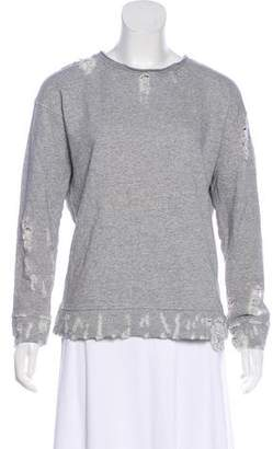 Mother The Big Easy Distressed Sweater