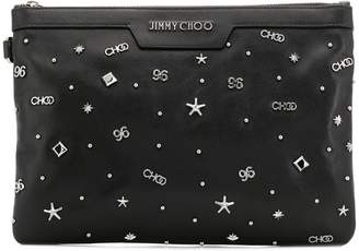 Jimmy Choo small Derek clutch