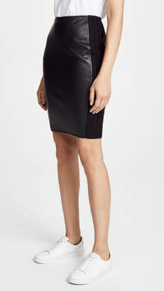 Bailey 44 Bailey44 Tolstoy Faux Leather Skirt