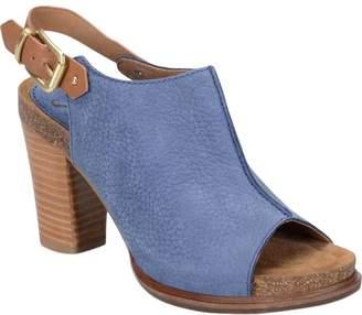 Sofft Slingback Leather Sandals - Cidra