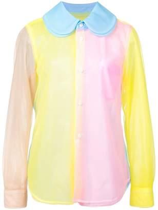 Comme des Garcons colour-block shirt