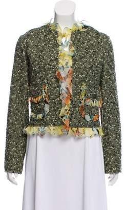 Dolce & Gabbana Silk-Trimmed Tweed Blazer