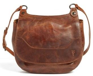 Frye 'Melissa' Leather Crossbody Bag - Brown $378 thestylecure.com