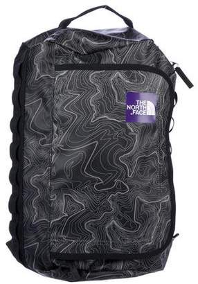 The North Face Printed Coated-Canvas Backpack