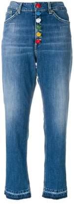 Dondup high-waist cropped jeans