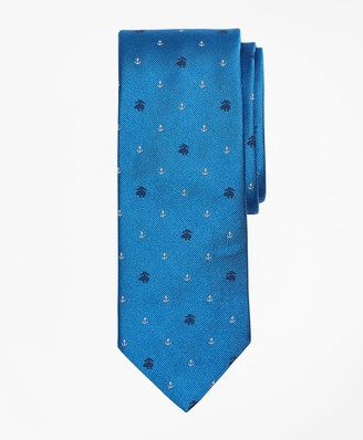 Brooks Brothers Fleece and Anchor Tie
