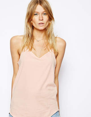 Asos Longline V-Neck Cami Top
