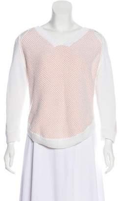 3.1 Phillip Lim V-Neck Cutout Sweater