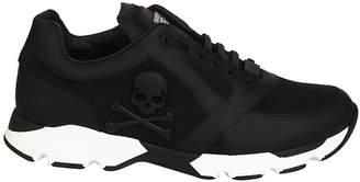 Philipp Plein Skeleton Running Sneakers