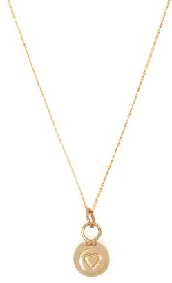 Aurelie Bidermann Fine Jewellery Fine Jewellery - 18kt Gold Bell Charm Necklace - Womens - Gold