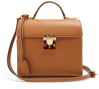 Mark Cross Sara grained-leather bag