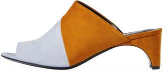 Pierre Hardy Cut Suede Mule Sandal