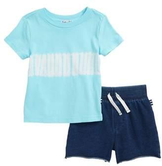 Splendid Tie Dye T-Shirt & Shorts Set