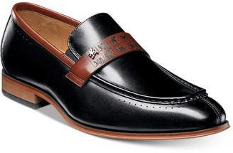 Stacy Adams Men's Sussex Moc Toe Slip-On Loafers