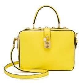 Dolce & Gabbana Leather Top-Handle Bag