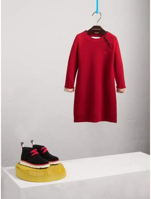 Burberry Cashmere Sweater Dress