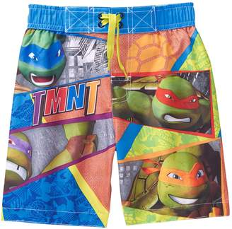 Crazy 8 Crazy8 Teenage Mutant Ninja Turtles Swim Trunks
