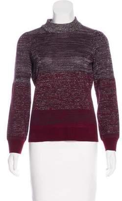 Peter Som Turtleneck Wool-Blend Sweater