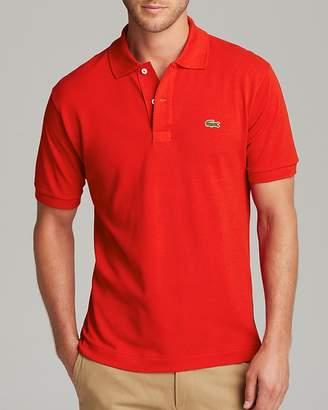 Lacoste Short Sleeve Piqué Polo Shirt - Classic Fit