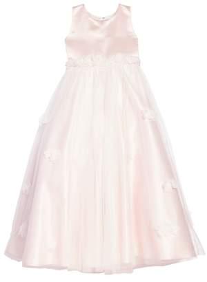 Joan Calabrese for Mon Cheri Satin & Tulle Dress