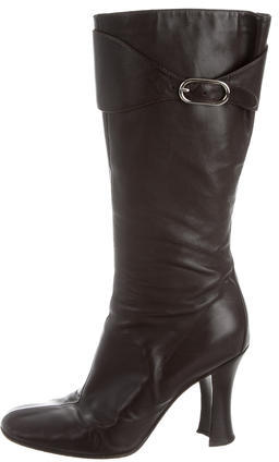 Balenciaga  Balenciaga Knee-High Leather Boots