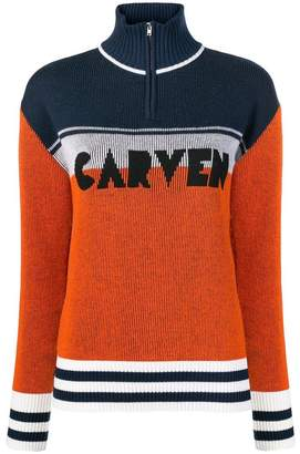 Carven colour block jumper