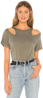 LnA Jesse Shoulder Cut Out Tee