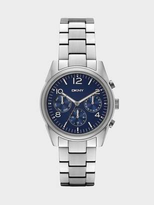 DKNY Crosby Stainless-Steel Multifunction Watch