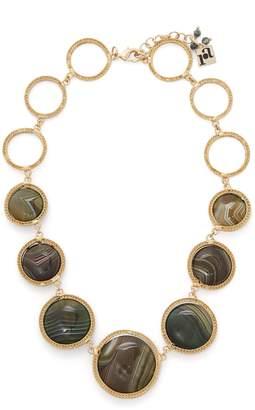 Rosantica BY MICHELA PANERO Scarabeo agate-drop necklace