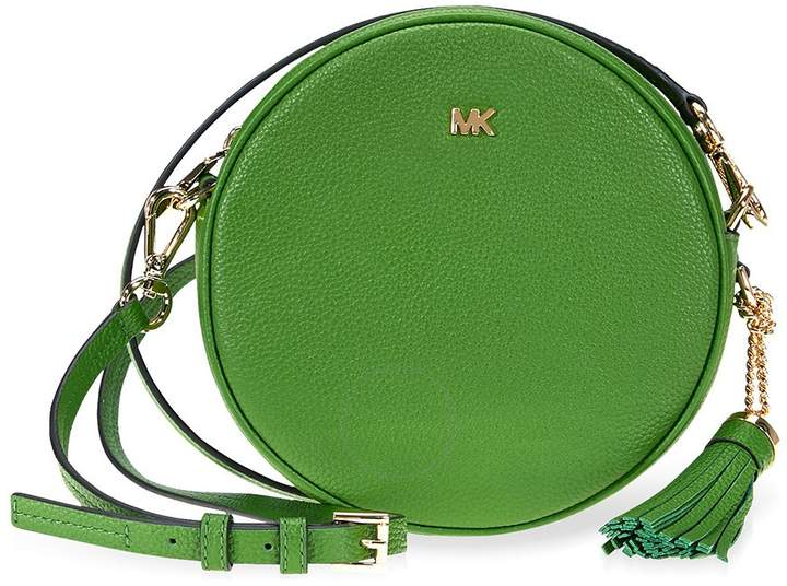 Michael Kors Mercer Medium Canteen Crossbody Bag- True Green - ONE COLOR - STYLE