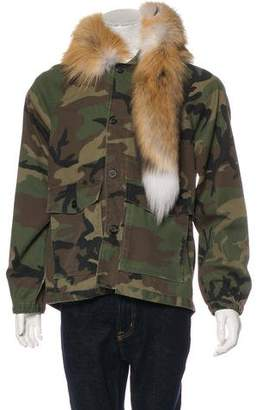 Enfants Riches Deprimes Camouflage Horn Fox Jacket