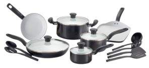 T-Fal Initiatives Ceramic 16pc Set