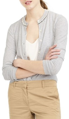 Women's J.crew Jackie Beaded Cardigan $79.50 thestylecure.com
