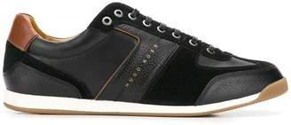 HUGO BOSS leather low top sneakers