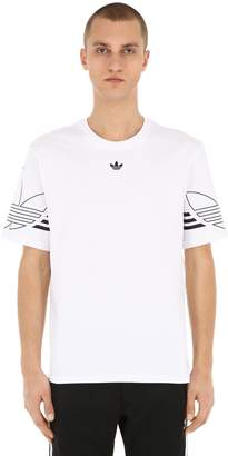 adidas Outline Cotton Jersey T-Shirt