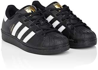 adidas Kids' Superstar Foundation Leather Sneakers $55 thestylecure.com