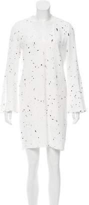 Derek Lam Splatter Print Mini Dress w/ Tags