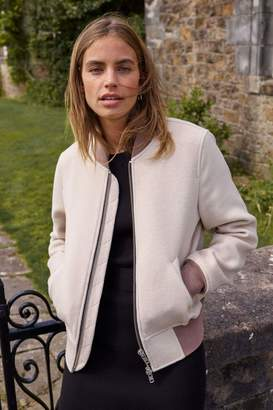 Jack Wills Maltby Wool Blend Bomber