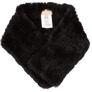 Michael Kors Knit Fur Scarf