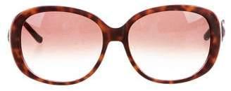 Judith Leiber Embellished Tortoiseshell Sunglasses
