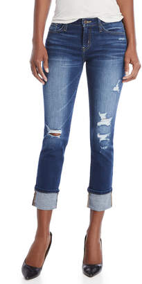 Flying Monkey Low-Rise Distressed Jeans