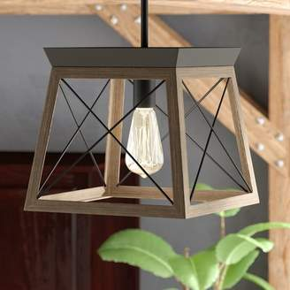Laurèl Foundry Modern Farmhouse Delon 1-Light Lantern Pendant