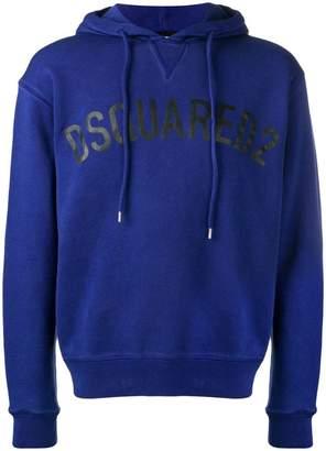 DSQUARED2 logo hoodie