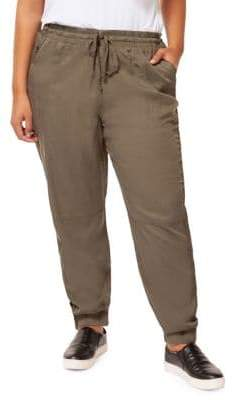 Dex Plus Drawstring Jogger Pants